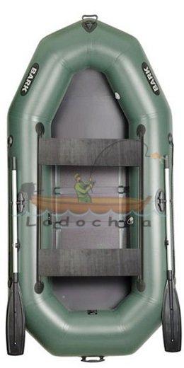 Лодка надувная гребная Bark B-280D, подвижные сиденья купить в интернет магазине Lodochka.ua, Киев, Украина, цена, продажа, описание, отзывы.