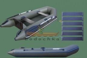 лодка пвх sportex шельф 270