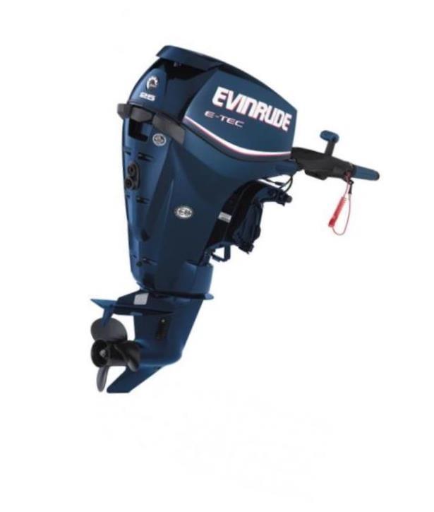 установка лодочных моторов evinrude